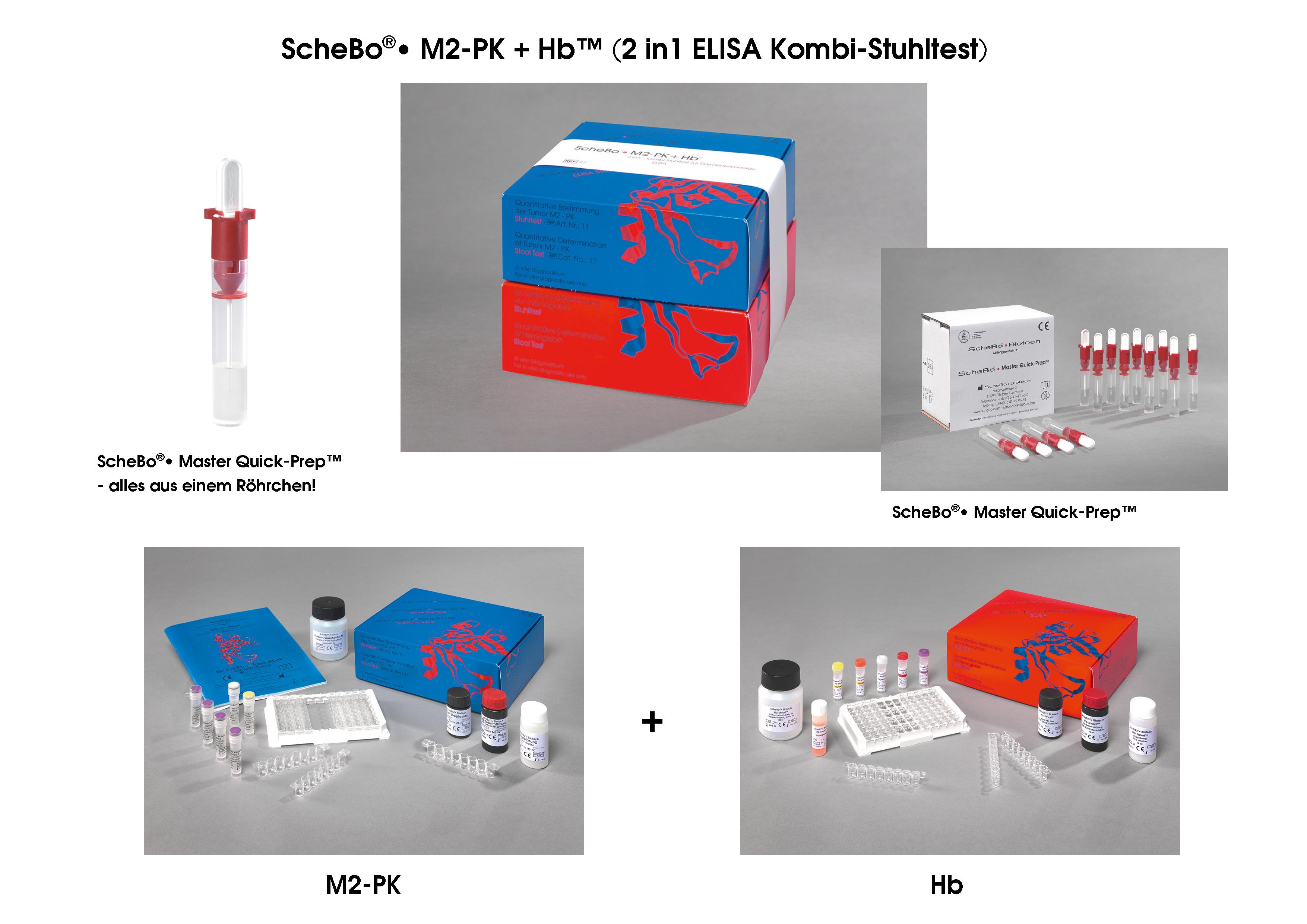 ScheBo®• M2-PK + Hb™ (2in1 Kombi-Stuhltest) | ScheBo ...